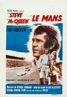 Le Mans - Belgian Movie Poster (xs thumbnail)