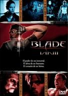 Blade: Trinity - Spanish DVD cover (xs thumbnail)