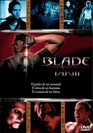 Blade: Trinity - Spanish DVD movie cover (xs thumbnail)