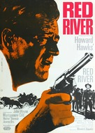 Red River - German Movie Poster (xs thumbnail)