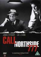 Call Northside 777 - British DVD movie cover (xs thumbnail)