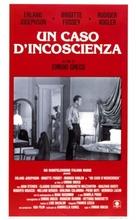 Un caso d'incoscienza - Italian Movie Poster (xs thumbnail)