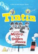 Tintin et le mystère de la toison d'or - British DVD cover (xs thumbnail)