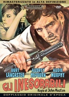 The Unforgiven - Italian DVD movie cover (xs thumbnail)