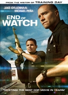 End of Watch - DVD cover (xs thumbnail)