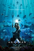 Aquaman - Turkish Movie Poster (xs thumbnail)
