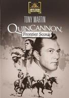 Quincannon, Frontier Scout - DVD cover (xs thumbnail)