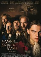 The Man In The Iron Mask - German Movie Poster (xs thumbnail)