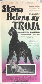 Helen of Troy - Swedish Movie Poster (xs thumbnail)