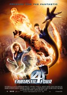 Fantastic Four - German Movie Poster (xs thumbnail)