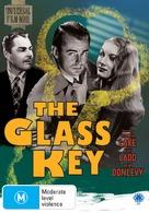 The Glass Key - Australian DVD cover (xs thumbnail)