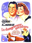 No Time for Love - French Movie Poster (xs thumbnail)
