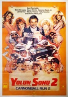 Cannonball Run 2 - Turkish Movie Poster (xs thumbnail)