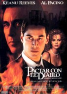 The Devil's Advocate - Spanish Movie Poster (xs thumbnail)