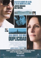 Duplicity - Mexican Movie Poster (xs thumbnail)