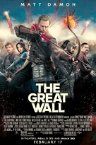 The Great Wall - Movie Poster (xs thumbnail)