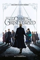 Fantastic Beasts: The Crimes of Grindelwald - Luxembourg Movie Poster (xs thumbnail)