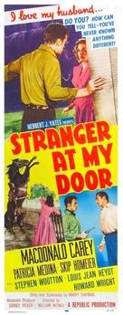 Stranger at My Door - Movie Poster (xs thumbnail)
