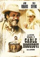 The Ballad of Cable Hogue - Czech DVD cover (xs thumbnail)
