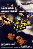 À nous deux - German Movie Poster (xs thumbnail)