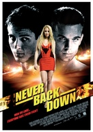 Never Back Down - Norwegian Movie Poster (xs thumbnail)