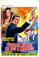 Coplan ouvre le feu à Mexico - Belgian Movie Poster (xs thumbnail)
