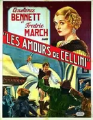 The Affairs of Cellini - French Movie Cover (xs thumbnail)