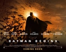 Batman Begins - British Movie Poster (xs thumbnail)