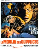 Il mulino delle donne di pietra - Belgian Movie Poster (xs thumbnail)