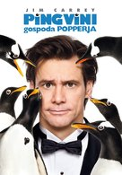 Mr. Popper's Penguins - Slovenian Movie Poster (xs thumbnail)