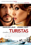 The Tourist - Lithuanian Movie Poster (xs thumbnail)