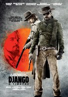 Django Unchained - Greek Movie Poster (xs thumbnail)