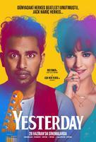 Yesterday - Turkish Movie Poster (xs thumbnail)