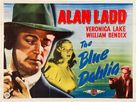 The Blue Dahlia - British Movie Poster (xs thumbnail)