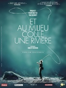 A River Runs Through It - French Re-release poster (xs thumbnail)
