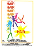 Hair - Spanish Movie Poster (xs thumbnail)