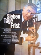 Sieben Tage Frist - German Movie Poster (xs thumbnail)