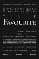 The Favourite - Irish Movie Poster (xs thumbnail)