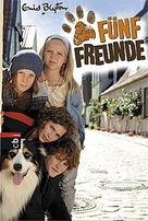 Fünf Freunde - German Movie Poster (xs thumbnail)