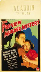 The Preview Murder Mystery - Movie Poster (xs thumbnail)
