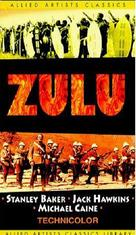 Zulu - VHS movie cover (xs thumbnail)