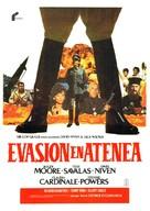 Escape to Athena - Spanish Movie Poster (xs thumbnail)