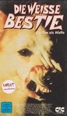 White Dog - German VHS cover (xs thumbnail)