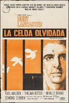 Birdman of Alcatraz - Argentinian Movie Poster (xs thumbnail)