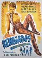 Renegades - Spanish Movie Poster (xs thumbnail)