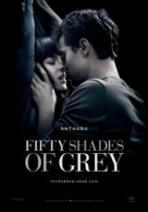 Fifty Shades of Grey - Finnish Movie Poster (xs thumbnail)
