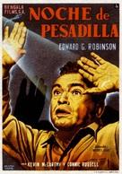 Nightmare - Spanish Movie Poster (xs thumbnail)