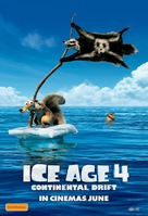Ice Age: Continental Drift - Australian Movie Poster (xs thumbnail)