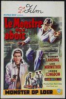 4D Man - Belgian Movie Poster (xs thumbnail)