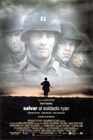 Saving Private Ryan - Spanish Movie Poster (xs thumbnail)